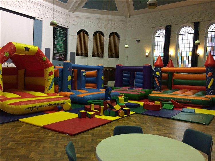 bouncy castles image